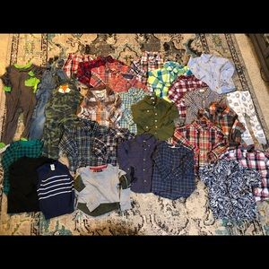 Lot of Toddler Clothes Size 2T and some 24 Months
